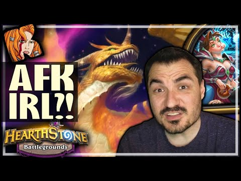 I PLAYED AFK IN REVERSE?! - Hearthstone Battlegrounds