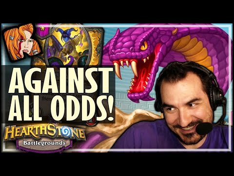 A GAME AGAINST ALL ODDS! - Hearthstone Battlegrounds