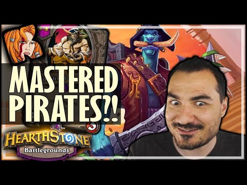 I ACTUALLY PLAYED PIRATES WELL?! - Hearthstone Battlegrounds