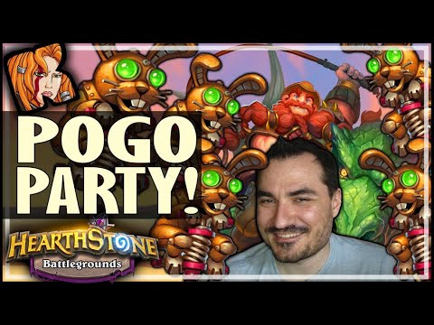 NEW PATCH = POGO PARTY!!! - Hearthstone Battlegrounds