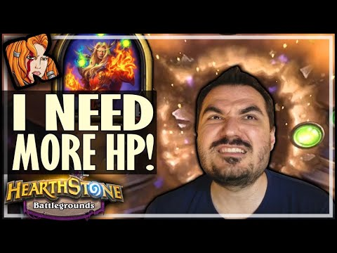 DEAR BLIZZ, I NEED MORE HP! - Hearthstone Battlegrounds