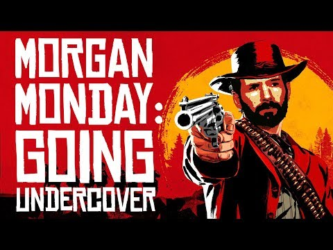 Red Dead Redemption 2 MORGAN MONDAY: GOING UNDERCOVER! (Let's Play RDR2 Ep. 6)