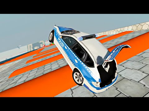 BeamNG Drive Satisfying Car Crashes #2 [4K 60 FPS]