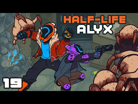 What A Lovely Evening To Visit The Zoo! - Let's Play Half-Life Alyx - Oculus Rift S Gameplay Part 19