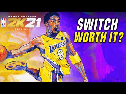 NBA 2K21 Switch: GOOD/BAD Port?! (NBA 2K21 Gameplay Nintendo Switch)