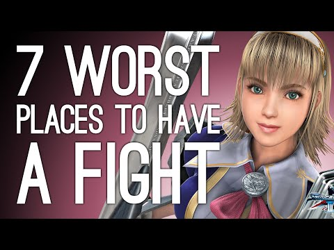 7 Worst Places to Have a Fight in Fighting Game History: Part 3