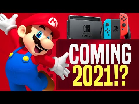 It's Real!? NEW Nintendo Switch Pro Console with 4K Coming in 2021!?