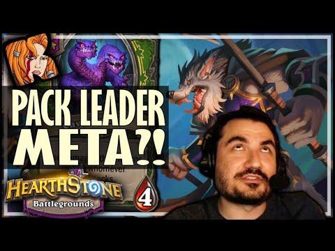 ALWAYS TAKE PACK LEADER! - Hearthstone Battlegrounds