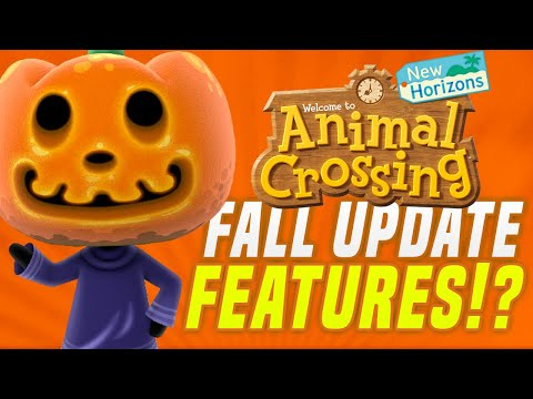 THIS WILL SAVE Animal Crossing New Horizons Fall Update!   New Features w/Nintentalk (Switch Update)