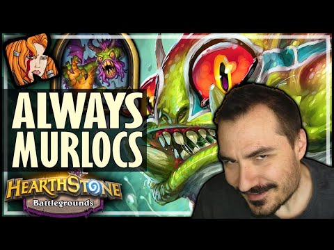 SHUDDERWOCK = ALWAYS MURLOCS! - Hearthstone Battlegrounds