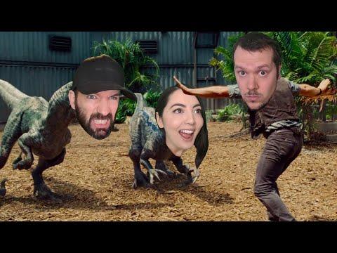 Minecraft Jurassic World Challenge! Which Dinosaur is Best Dinosaur? Andy vs Jane