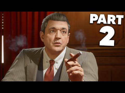MAFIA REMAKE Gameplay Walkthrough Part 2 - COLLECTION DAY (Mafia Definitive Edition)