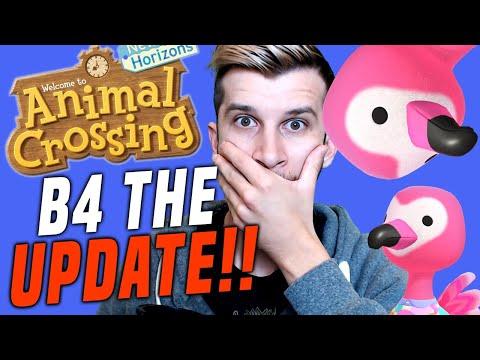 🔴HURRY B4 THE UPDATE! RARE VILLAGER Animal Crossing New Horizons Gameplay Update | SwitchForce