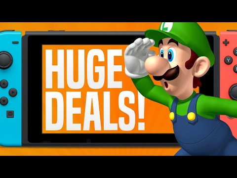 LOWEST PRICE EVER!  BIG Nintendo Switch Games Sale! (Nintendo eShop Deals and Sales)