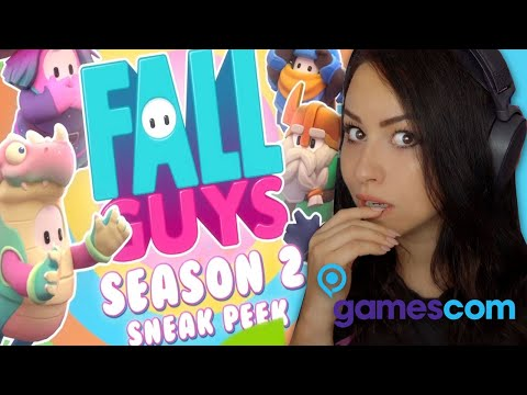 Bunny REACTS to Gamescom 2020 ALL TRAILERS! Fall Guys Season 2, Star Wars & More...