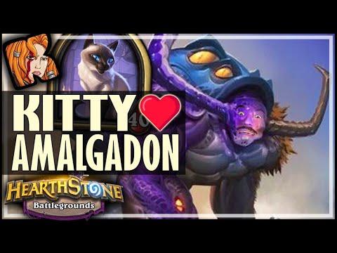 BIGGLESWORTH LOVES HIS AMALGADONS! - Hearthstone Battlegrounds