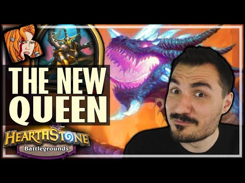 MAIEV IS THE NEW DRAGON QUEEN! - Hearthstone Battlegrounds