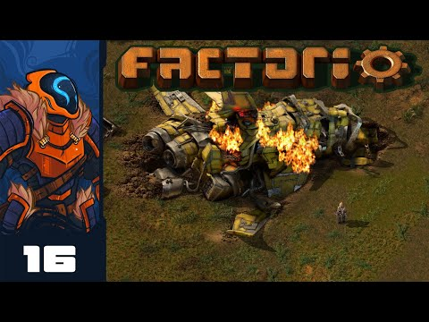Factorio Is Secretly A Tower Defense Game - Let's Play Factorio [1.0 - Heavily Modded] - Part 16