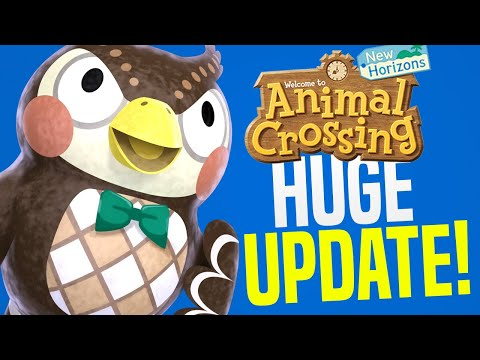 Animal Crossing September Update - ALL New Features, Events, Villagers, Creatures! (ACNH Tips)