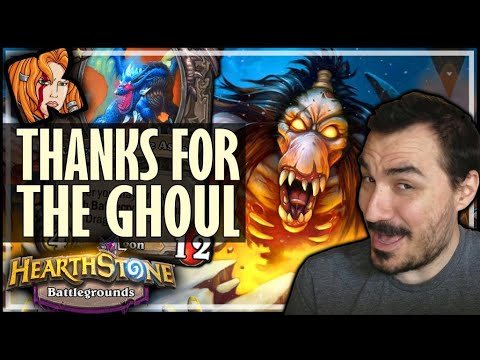 GHOUL ISN'T ALWAYS THE SOLUTION - Hearthstone Battlegrounds