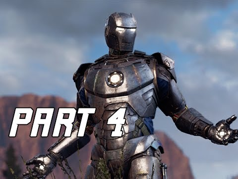 I AM BUDGET IRON MAN - MARVEL'S AVENGERS Walkthrough Gameplay Part 4  (PS4 PRO)
