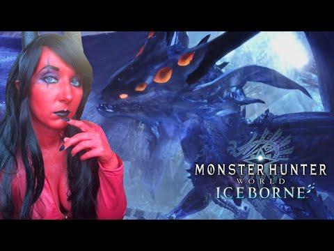 Fire Demon Girl VS Xeno'jiiva & Safi'jiiva! - Monster Hunter World Iceborne Part 13