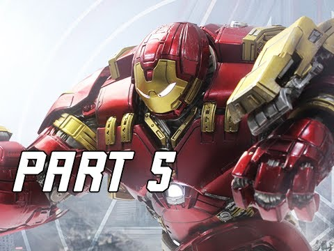 HULKBUSTER ARMOUR - MARVEL'S AVENGERS Walkthrough Gameplay Part 5 (PS4 PRO)
