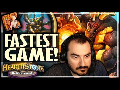 TURN 12 = GAME OVER! - Hearthstone Battlegrounds