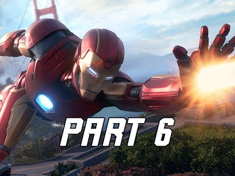 HANK PYM - MARVEL'S AVENGERS Walkthrough Gameplay Part 6 (PS4 PRO)
