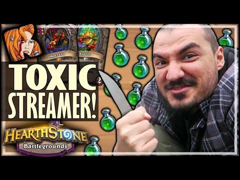 MAXIMUM TOXICITY! - Hearthstone Battlegrounds