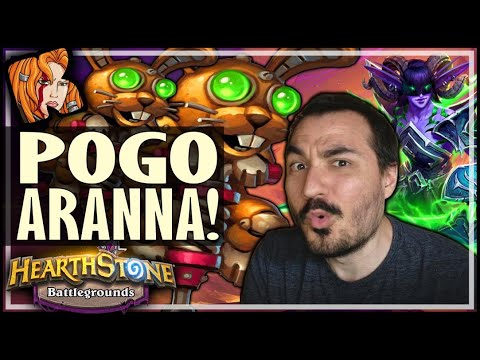 HOW I PLAY POGO ARANNA! (AND WIN?!) - Hearthstone Battlegrounds