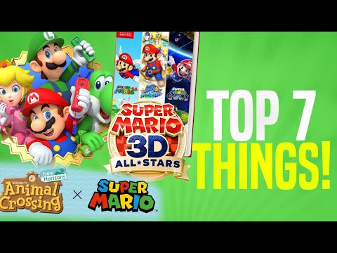 7 FAVORITE Super Mario 35th Announcements From The Direct!