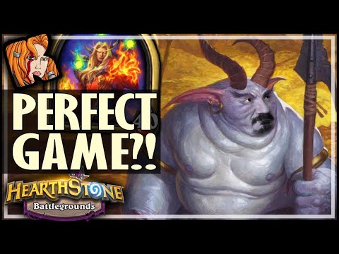 PERFECT GAME STILL POSSIBLE?! - Hearthstone Battlegrounds