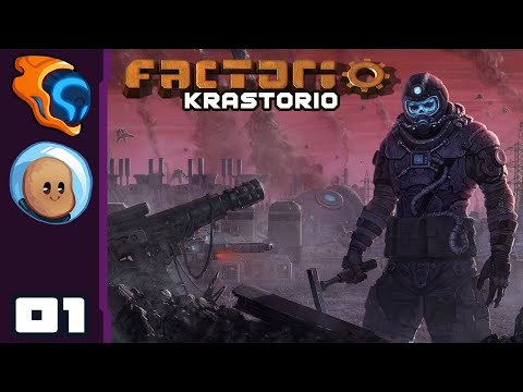 This Will End Well - Let's Play Factorio [Krastorio with @Orbital Potato] - Part 1