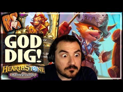 EUDORA'S GOD-DIG - Hearthstone Battlegrounds