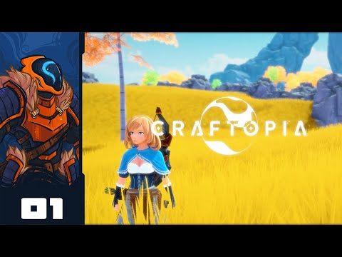 This Game Is A Hilarious Fever Dream - Let's Play Craftopia - PC Gameplay Part 1