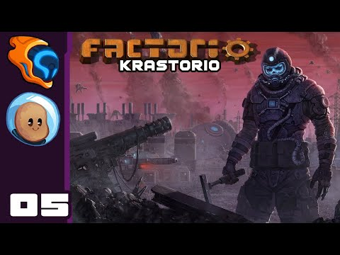 Stop Nibbling On Our Walls! - Let's Play Factorio [Krastorio with @Orbital Potato] - Part 5
