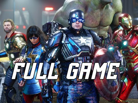 MARVEL'S AVENGERS Walkthrough Gameplay - FULL GAME (No Commentary)