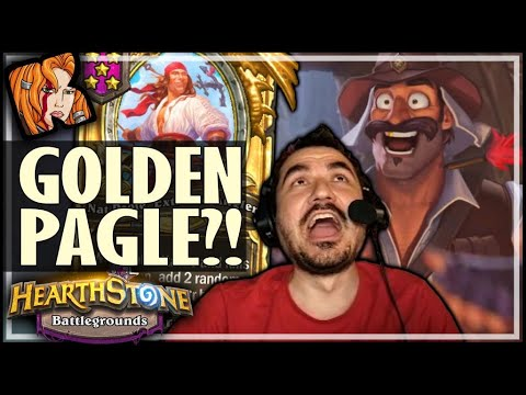 WHY DID I MAKE PAGLE GOLDEN?! - Hearthstone Battlegrounds