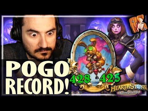 NEW HERO = GALACTIC POGO?! - Hearthstone Battlegrounds