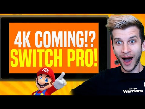 4K Nintendo Switch Games Are Being Made... Switch Pro 2021!?