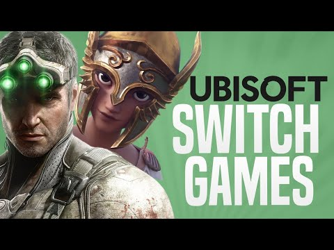 Ubisoft Forward 2020 - NEW SWITCH GAMES ANNOUNCED!!
