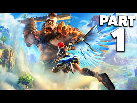 IMMORTALS FENYX RISING Early Gameplay Walkthrough Part 1 (Gods and Monsters)