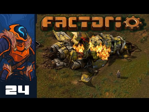 I Like My Xenos Extra Crispy - Let's Play Factorio [1.0 - Heavily Modded] - Part 24