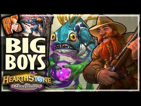 MEET THE BIG BOYS! - Hearthstone Battlegrounds