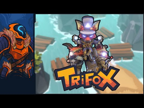 Trifox - Overgeared Low-Poly Foxes Battle Seemingly Endless Crabs!