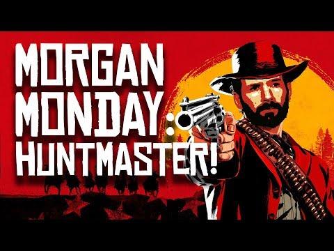 Red Dead Redemption 2 MORGAN MONDAY: ARTHUR MORGAN: HUNTMASTER (Let's Play RDR2 Ep. 8)