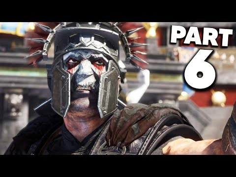 RYSE SON OF ROME Gameplay Walkthrough Part 6 - GLADIATOR FIGHT
