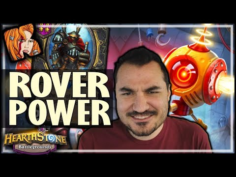 THE POWER OF THE ROVER! - Hearthstone Battlegrounds