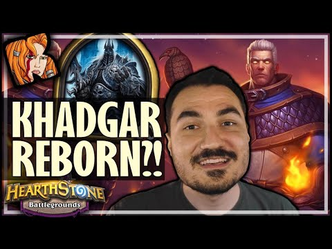 LICH KING LOVES KHADGAR?! - Hearthstone Battlegrounds